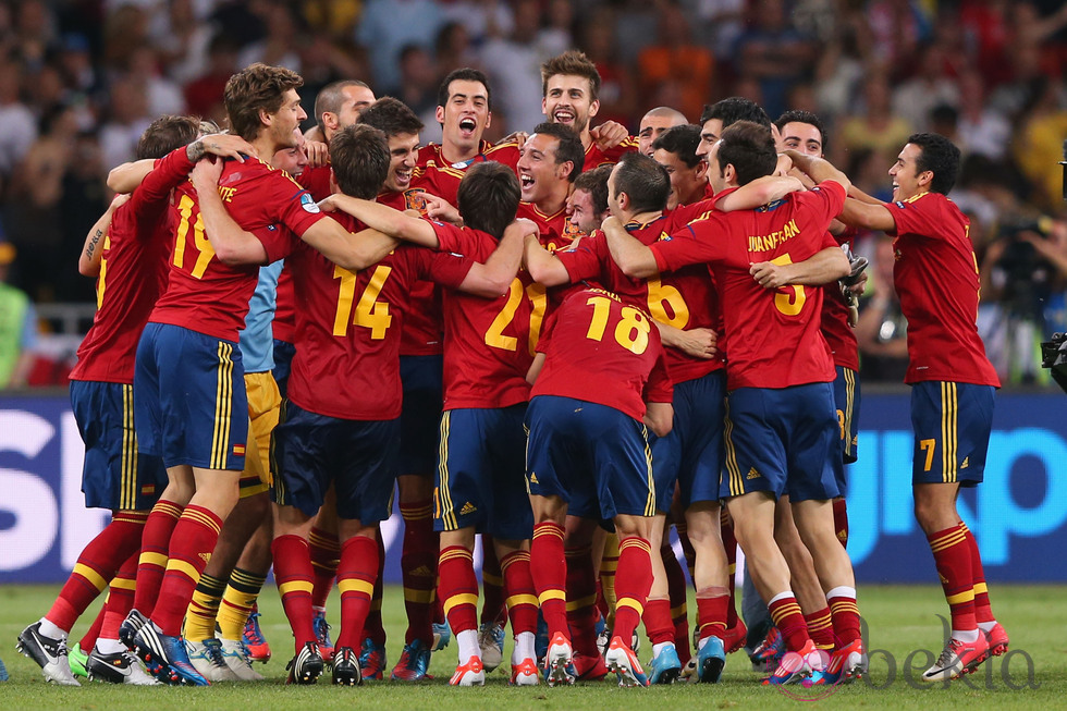 Amistoso entre España y Bolivia antes del mundial de fútbol